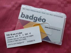 Badgéo + contremarque